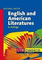 English and American Literatures (utb basics, Band 2526)  Von Michael Meyer