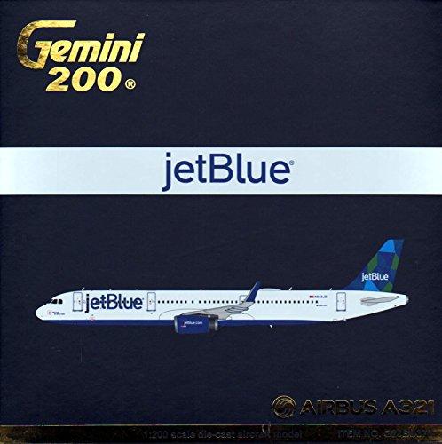 Gemini200 JetBlue A321-200(S) Airplane Model (1:200 Scale) (Jetblue Model Plane compare prices)