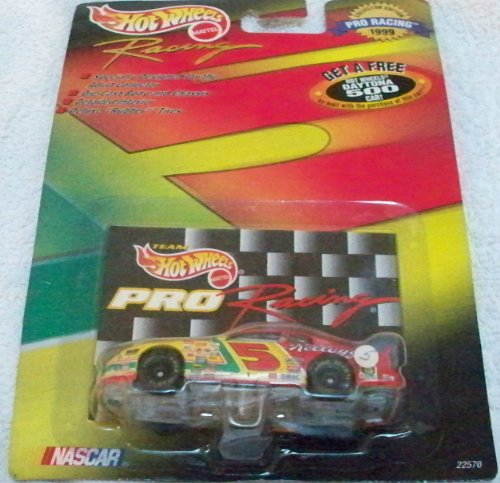 Hot Wheels 1999 1:64 Scale Black Pro Racing Hendrick Motosports Kellog's Racing #5 Chevrolet Monte Carlo