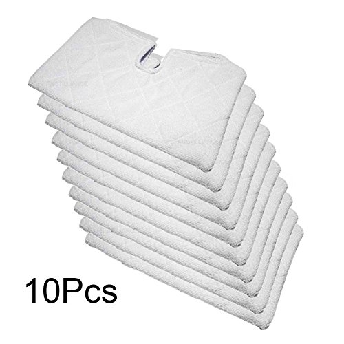 Fushing 10Pcs Microfiber Replacement Cleaning Pads for Shark Steam Pocket Mops S3501 S3601 S3901 (Professional Steam Pocket Mop compare prices)