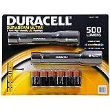 Duracell Durabeam Ultra High Intensity Tactical- 500 Lumen Flashlight 2-Pack with 6 C Batteries
