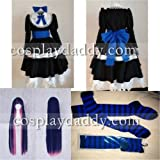 Panty&stocking with Garterbelt Stocking Cosplay Costume Including Wig