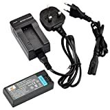 DSTE® NP-FC10 Rechargeable Li-ion Battery + Charger DC06U for Sony NP-FC10, NP-FC11 and Sony Cyber-shot DSC-F77, DSC-F77A, DSC-FX77, DSC-P10, DSC-P10L, DSC-P10S, DSC-P12, DSC-P2, DSC-P3, DSC-P5, DSC-P7, DSC-P8, DSC-P8L, DSC-P8R, DSC-P8S, DSC-P9, DSC-V1 .
