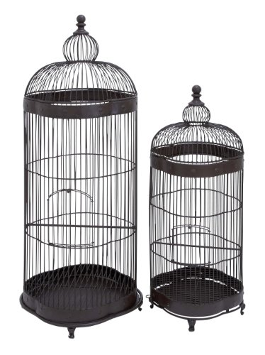 Plutus Brands Metal Bird Cage Designed