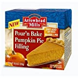 Arrowhead Mills Pour'N Bake Pumpkin Pie Filling, 18.9 Ounce Boxes (Pack of 6)