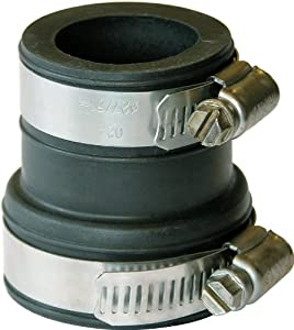 Fernco DTC-110 Drain Trap Connector/Pipe Sleeve Seal, 1-1/2-Inch
