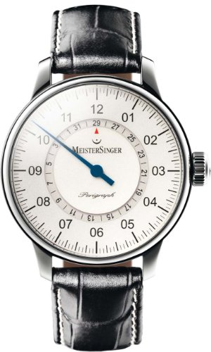 MeisterSinger Perigraph Reloj elegante para hombres Diseño Clásico