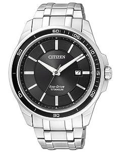 Citizen Herren-Armbanduhr XL Super Titanium Analog Quarz Titan BM6920-51E