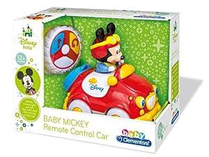 Clementoni - 14502.7 - Jouet de Premier Age - La Voiture Radiocommandée de Mickey