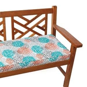 Amazon Mozaic Sabrina Indoor Outdoor Bench Cushion