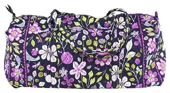 Vera Bradley XL Duffel in Floral Night