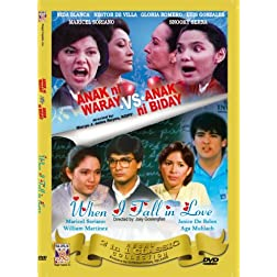Anak ni Waray vs. Anak ni Biday/ When I fall in Love - Philippines Filipino Tagalog DVD Movie