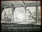 img - for Drawing As a Means to Architecture book / textbook / text book