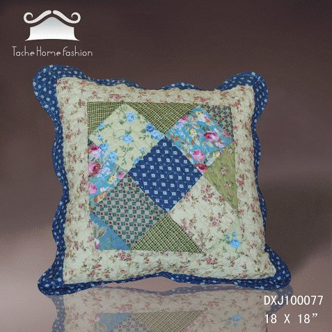 Tache 2 Piece 18 X 18 Inches 100% Cotton Floral County Rustic Spring Shower Decorative Accent Throw Pillow Cushion Cover