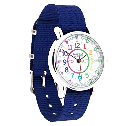 easyread-time-teacher-childrens-watch-minutes-past-and-minutes-to-rainbow-colours-navy-blue-strap