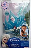 Disney Frozen Elsa Tiara and Jewelry Set