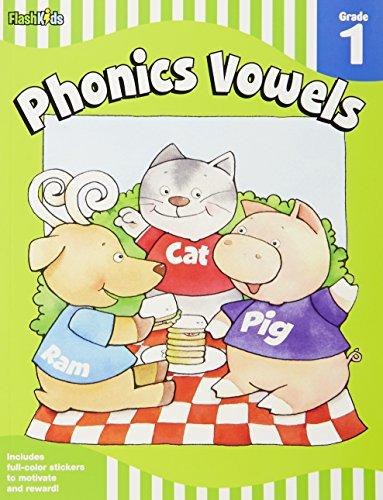 Phonics Vowels: Grade 1 (Flash Skills)