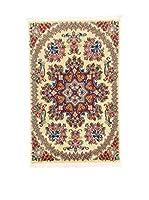 L'Eden del Tappeto Alfombra Qom Sh Beige / Multicolor 90  x  60 cm