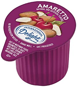 International Delight Amaretto Liquid Creamer, 288-Count Single-Serve Packages