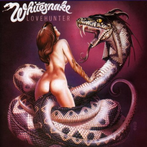 Original album cover of Love Hunter by Whitesnake