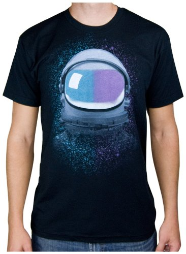 Choke Shirt Company Men's Astrounat Space Tee -Medium Black (Choke Shirt Company compare prices)