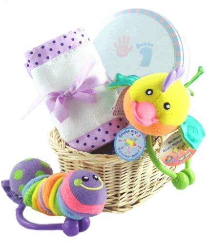 Crinkle Baby Gift Basket