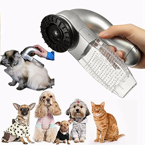 Pet Vacuum Cleaner Large Dogs Fur Vac Hair Collection Cats Dog Groomer Useful Goods for Pets Dog (Bissel Pet Hair Filter compare prices)