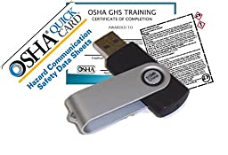 Short & Sweet -- Professional OSHA GHS Training & SDS Training Mini Video & Test, Short & Sweet Fast 30min OSHA SDS Employee Training & Certification Course -- Avoid OSHA $$$ Fines & Employee Lawsuits