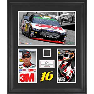 Greg Biffle Framed 3-Photograph Collage with Race-Used Tire-Limited Edition of 500 -... by Sports Memorabilia