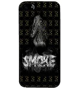 PrintDhaba Smoke D-5993 Back Case Cover for APPLE IPHONE 4S (Multi-Coloured)