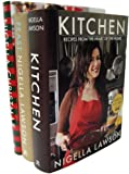 Nigella Lawson 3 Book Set (Nigella's Kitchen, Nigella's Feast, Nigella's Christmas)