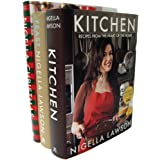 Nigella Lawson 3 Book Set (Nigella's Kitchen, Nigella's Feast, Nigella's Christmas)by Nigella Lawson