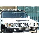 Delta 01-9060-10X 10X Xenon Roof Light Bar, Hummer H2 Compatibility
