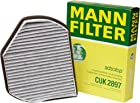 Mann-Filter CUK 2897 Cabin Filter With Activated Charcoal for select  Mercedes-Benz models