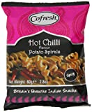 #6: Cofresh Spicy Spiral 80 g (Pack of 12)