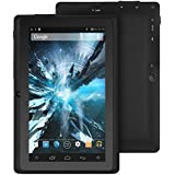 "ProntoTec 7"" inch Quad Core Google Android 4.4 KitKat Tablet PC, Allwinner A33 1.2 GHz Processor, Dual Camera, G-Sensor (Black)"