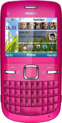 Nokia C3-00 Pink. Nokia C3 (C3-00) PINK Unlocked
