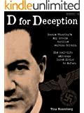 D for Deception (Kindle Single)