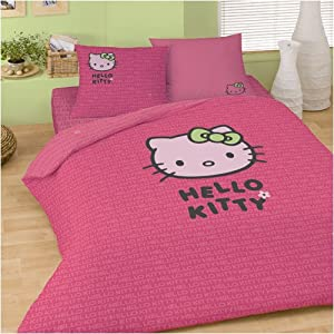 parure de lit hello kitty sweet pink cuisine. Black Bedroom Furniture Sets. Home Design Ideas