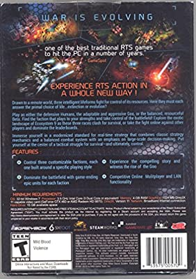Grey Goo War Is Evolving Pc Video Game Dvd-rom Usa Retail Version from Steam