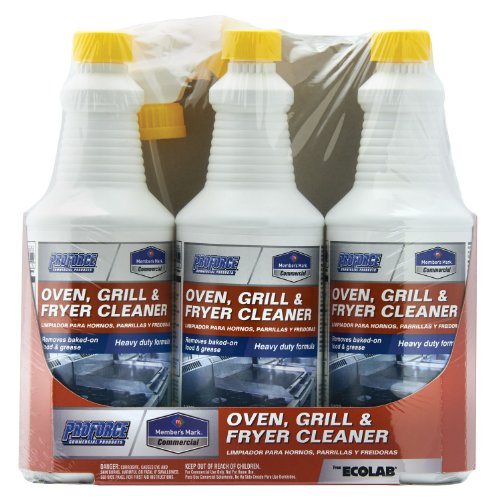 Member's Mark Commerical Oven, Grill and Fryer Cleaner, 32-Ounce, 3-Pack (Fryer Oven compare prices)