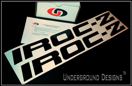 IROC-Z Third Gen CAMARO Door Decal Kit by Underground Designs (Irocz Camaro Decal compare prices)