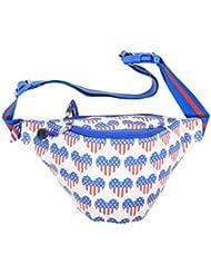 Patriotic Heart USA Fanny Pack