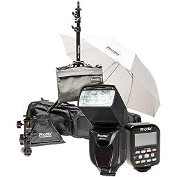 Phottix PH80377 Mitros+ & Odin Scott Kelby Kit for Canon (Black)