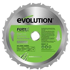 evolution(エボリューション) FURY3 210mm万能切断機チップソ-
