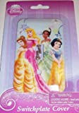 Disney Princess Switch Plate Cover - Baby Nursery Kids Bedroom Light Switch Wall Decor