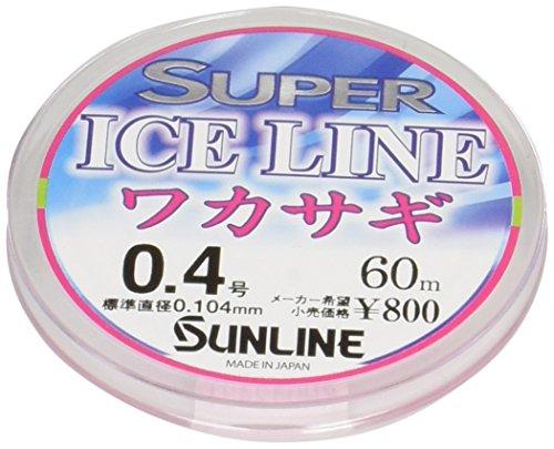 サンライン スーパーアイスラインワカサギ 60m