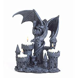 Gifts Decor Dragon Candleholder Medieval