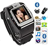 "New N388 Unlocked 1.4"" Touch Screen Watch Mobile Phone Adjustable Band Cell phone"