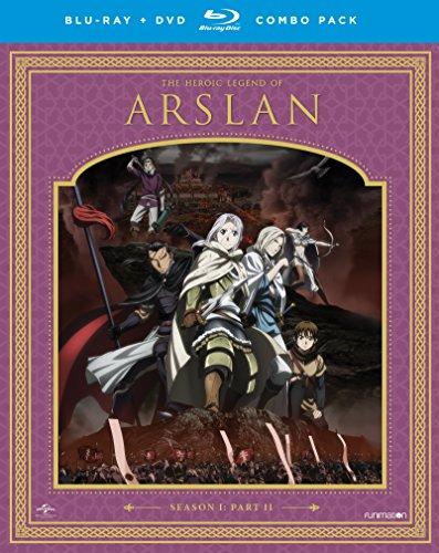 The Heroic Legend of Arslan: Season One, Part Two (Blu-ray/DVD Combo)